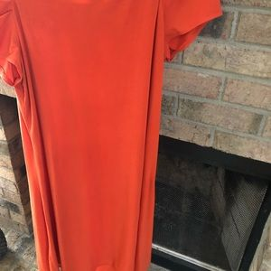 Mary McFadden Dresses - Burnt orange Mary McFadden dress